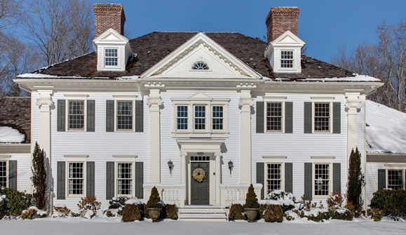 Needham duncan for Classic new england home designs